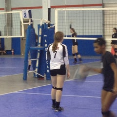 Photo taken at Volleyball Institute of Plano by Shannon J. on 1/27/2013