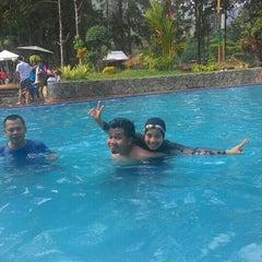 Photo taken at Taman Wisata Air Panas Guci by Dhifa M. on 1/3/2016