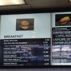 Photo taken at Fifth Avenue Bagelry by Abilene L. on 8/31/2014