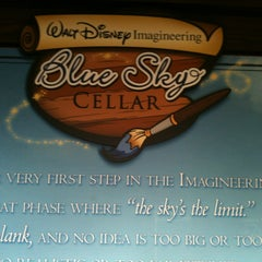 Photo taken at Walt Disney Imagineering Blue Sky Cellar by Cindy G. on 1/1/2013