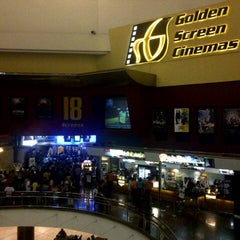 Photo taken at Golden Screen Cinemas (GSC) by Helmi V. on 12/29/2012