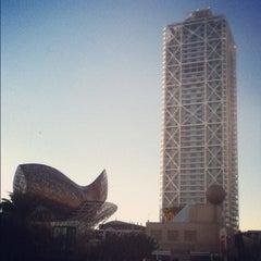 Photo taken at Hotel Arts Barcelona by Sasha P. on 12/8/2012