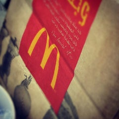 Photo taken at McDonald's - ماكدونالدز by M4NOR4 on 9/25/2012