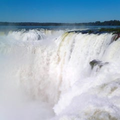 Photo taken at Cataratas del Iguazú by Wagner S. on 5/11/2013
