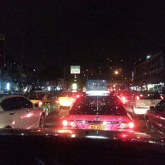 Photo taken at แยกลำสาลี (Lam Sali Intersection) by Tha T. on 6/10/2013