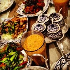 Photo taken at President Thai Restaurant by Cheko V. on 1/13/2013