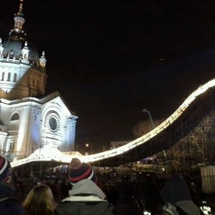 Photo taken at Red Bull Crashed Ice 2014 by Dale B. on 1/27/2013