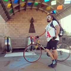 Photo taken at Mariachi Plaza by El Random H. on 10/6/2013