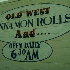 Photo taken at Old West Cinnamon Rolls by Adam R. on 5/29/2015