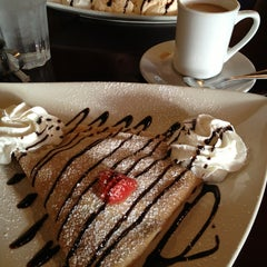 Photo taken at La Creperie Cafe by Kerry P. on 1/10/2013