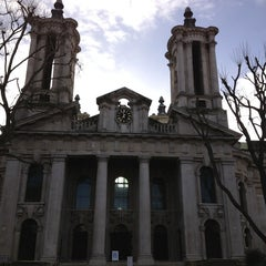 Photo taken at St. John's, Smith Square by Chad B. on 12/30/2012