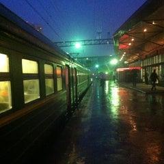 Photo taken at Станция «Одинцово» by Dmitry Y. on 4/27/2013
