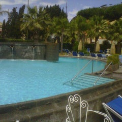 Photo taken at Albergo La Reginella Hotel Ischia by Vittorio C. on 7/4/2013