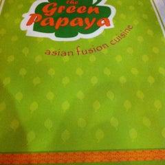 Photo taken at Green Papaya by Karen P. on 12/3/2012