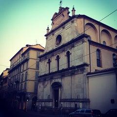 Photo taken at Chiesa di San Maurizio al Monastero Maggiore by Giorgi N. on 7/1/2013