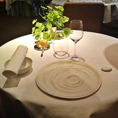 Photo taken at Pierre Gagnaire by Sand E. on 5/30/2013