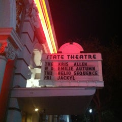 Photo taken at State Theatre by Tom H. on 1/22/2013