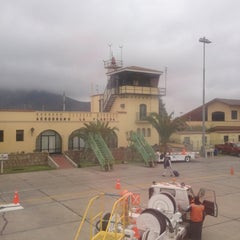 Photo taken at Aeropuerto La Florida (LSC - SCSE) by Carla A. on 11/4/2012