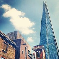 Photo taken at The Shard by Simon S. on 7/7/2013