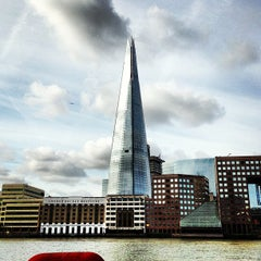 Photo taken at The Shard by Simon S. on 7/1/2013