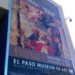 Photo taken at El Paso Museum of Art by Mike! on 11/6/2012