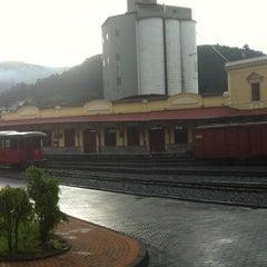 Photo taken at Estación de Tren Chimbacalle by MaFernanda P. on 4/23/2013