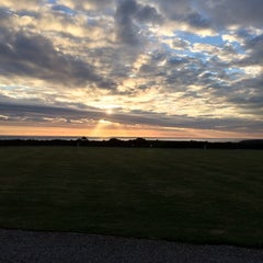 Photo taken at Sennen Cove Camping and Caravanning Club Site by Steven L. on 5/26/2014