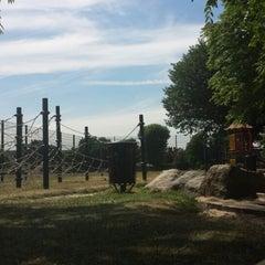 Photo taken at Dundonald Recreation Ground by Catarina G. on 7/15/2013