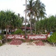 Photo taken at Koh Mook Charlie Beach Resort Trang by Bkk C. on 2/23/2013