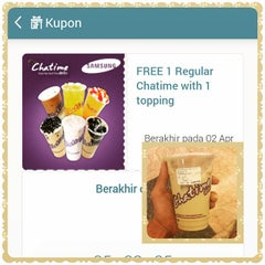 Photo taken at Chatime by Freylicious ?. on 4/2/2015