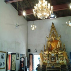 Photo taken at วัดนวลนรดิศ (Wat Nuannoradit) by Mahitti S. on 12/21/2013
