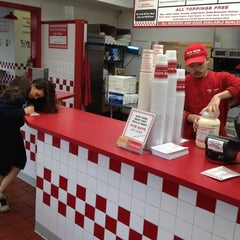 Photo taken at Five Guys by Bjourn L. on 2/13/2013