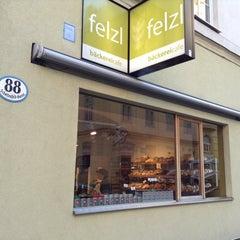 Photo taken at Bäckerei Felzl by Helmut K. on 10/14/2013