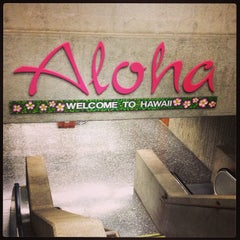 Photo taken at Honolulu International Airport (HNL) by Flora M. on 7/2/2013