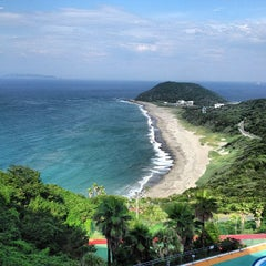 Photo taken at 伊良湖ビューホテル (Irako View Hotel) by kaname k. on 7/17/2013