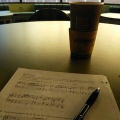 Photo taken at Jazzman's Café & Bakery by Joshua S. on 1/30/2014