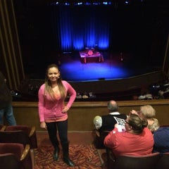 Photo taken at Steifel Theatre by Adriana G. on 10/4/2014