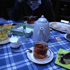 Photo taken at Café del Jardín by Daniela G. on 9/16/2013