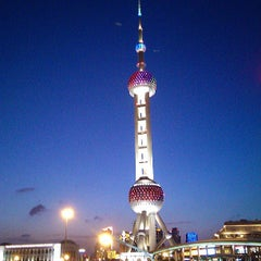 Photo taken at 东方明珠塔 | Oriental Pearl Tower by Mike C. on 7/14/2013