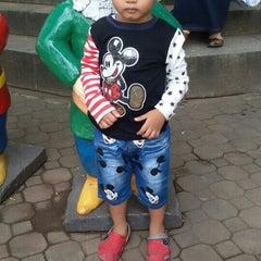 Photo taken at Taman Rekreasi Sengkaling by Ariella R. on 7/22/2015