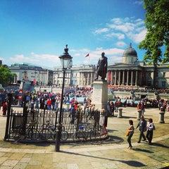 Photo taken at Trafalgar Square by Ghida A. on 6/11/2013