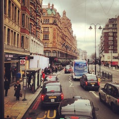 Photo taken at Knightsbridge by Ghida A. on 3/25/2013