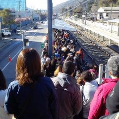 Photo taken at Metro Valparaiso - Estación El Salto by Carlos L. on 8/25/2014