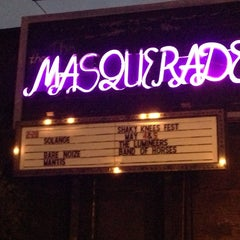 Photo taken at The Masquerade by Julian S. on 3/1/2013