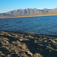 Photo taken at Crowley Lake by S. K. on 10/20/2013