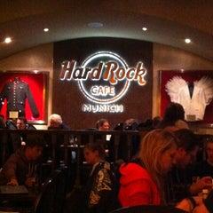 Photo taken at Hard Rock Cafe Munich by Мария К. on 3/1/2013