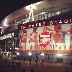 Photo taken at Emirates Stadium by Igor K. on 1/15/2013