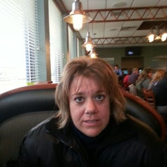 Photo taken at Faros Family Restaurant by Harland B. on 11/23/2012