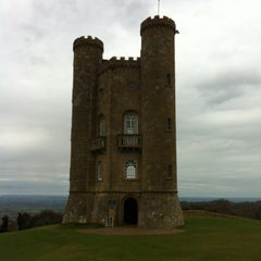 Photo taken at Broadway Tower by Alexey M. on 4/28/2013