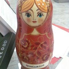 Photo taken at UniCredit Bank by Jenny K. on 10/4/2012